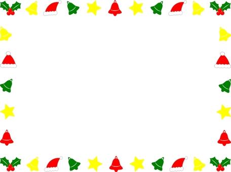 Christmas frame (ornament)