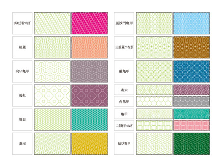Swatch series Japanese pattern 14 species 4