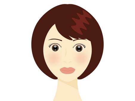 Women (short hair)