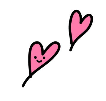 2 Heart (pink)