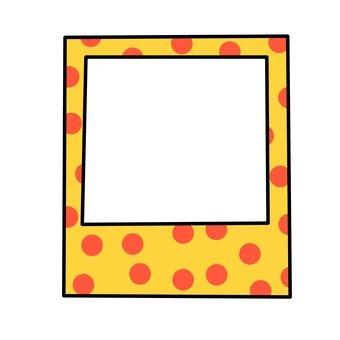 Dot pattern frame