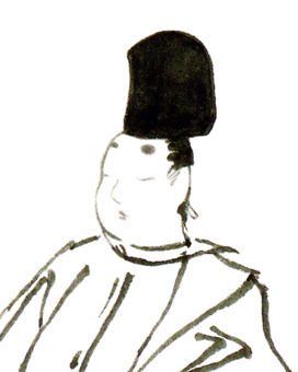 【Handwritten】 Public house of the Heian period (face) no.9