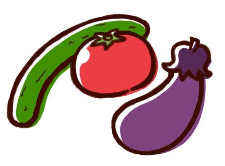 Various vegetables 02