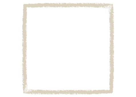 Crayon Touch Square Frame Beige
