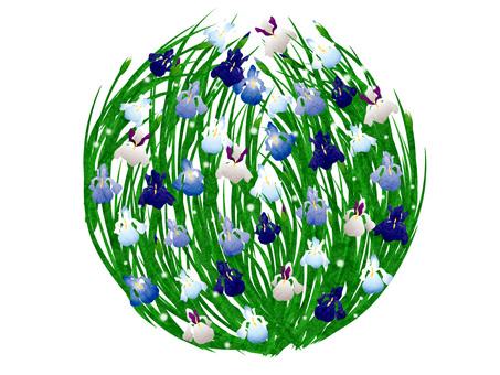 Flower bowls circle 01