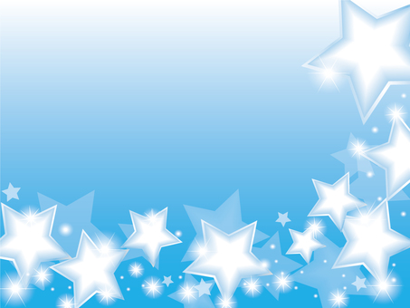 Star background blue