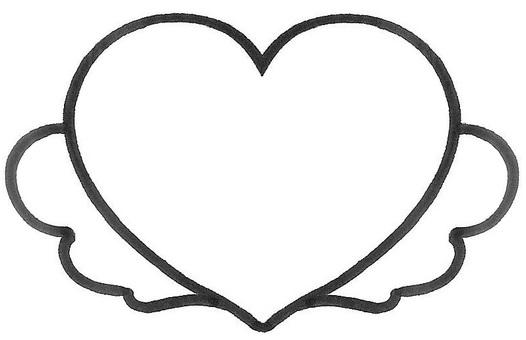 Heart memo heart note