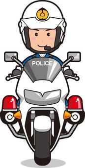 Officer 10 (male, white-baked crew member)