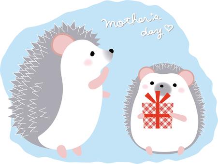 Seasonal Mother's Day (Hedgehog)