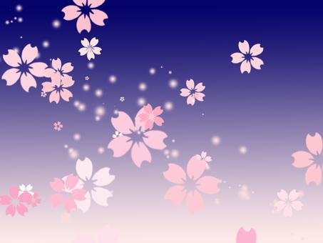 桜背景ver23