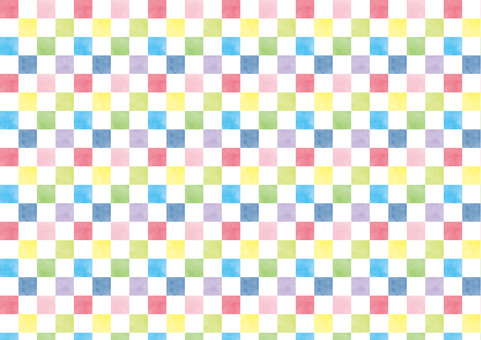 Checkered pattern Colorful