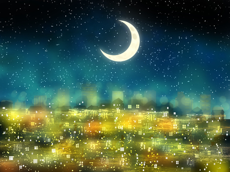 Night light Crescent 3