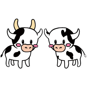 Cow couple 1