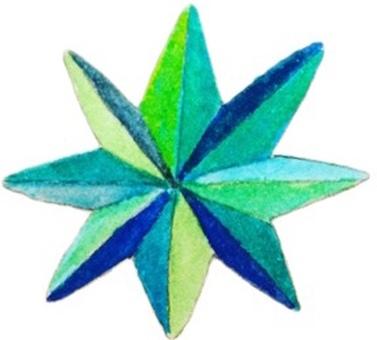 Glitter (blue)