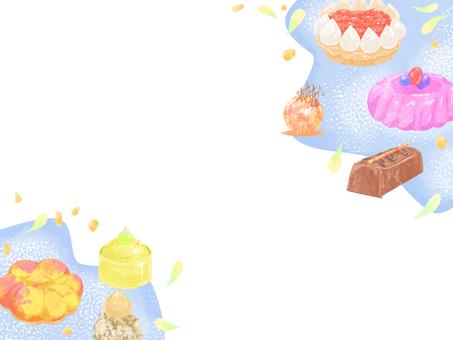 Cake layout