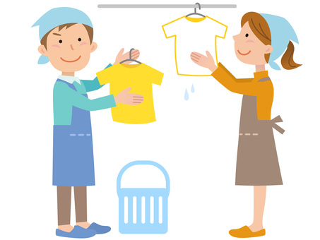 51218. Men and women, washing