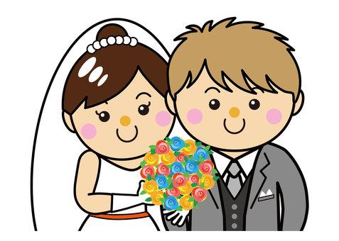 30_03 for men and women (wedding, groom, bride)
