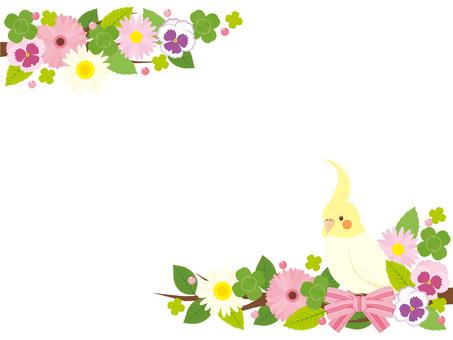 Okayinko的花框架