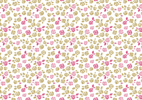 Rose pattern 2 girly
