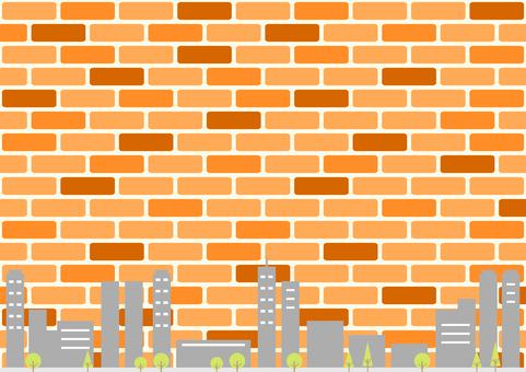 Building, cityscape, brick