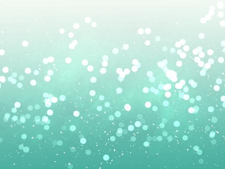 Glitter background material / green