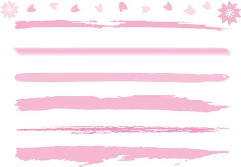 Strawberry milk color pen