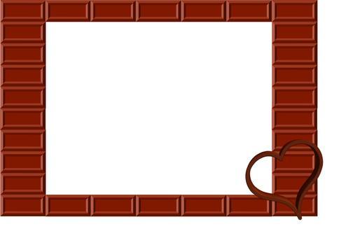 Chocolate frame