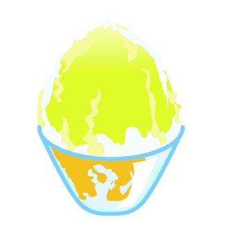 Oyster ice _ lemon