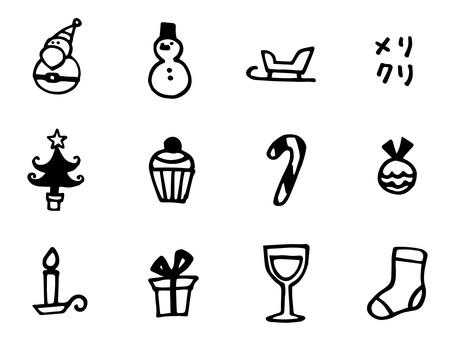 Christmas icon b
