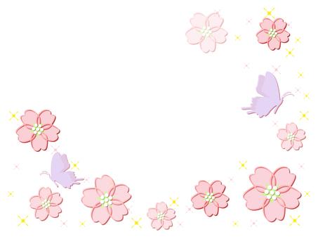 벚꽃과 나비 (cs2 ↓)