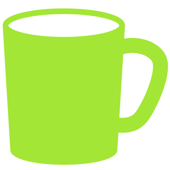 Mug Cup - Yellow Green