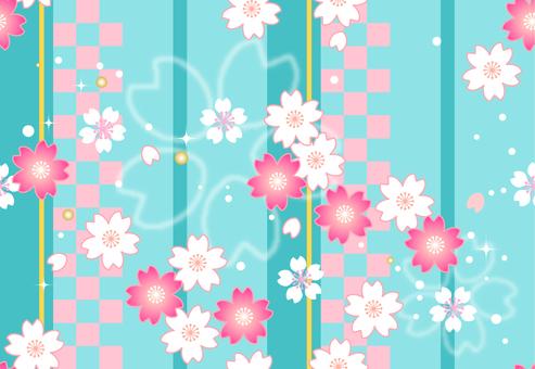 Sakura endless pattern