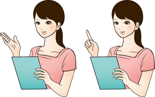 Beauty women illustration