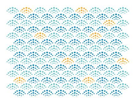 Japanese dot pattern Qinghai wave