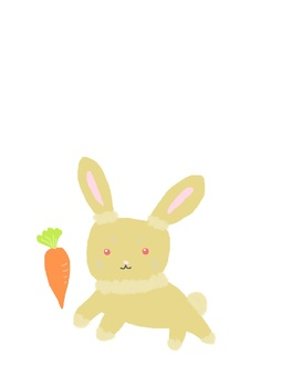 Caramel rabbit