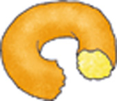 吃了甜甜圈