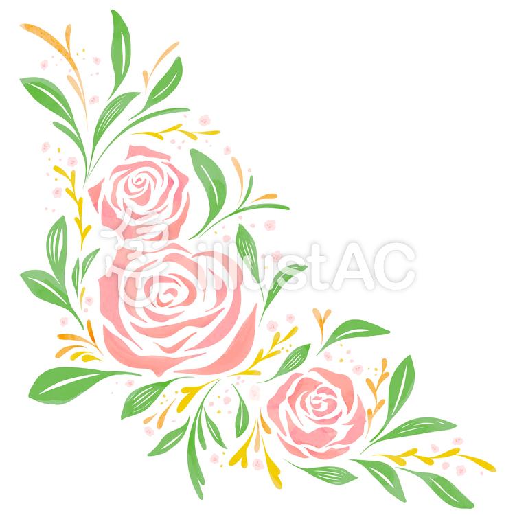 バラのフレーム1