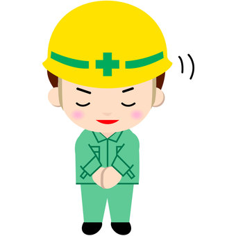 Construction worker (thank you)