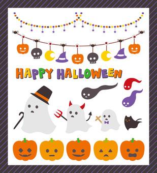 Icon line Halloween