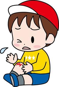 嬰兒/受傷