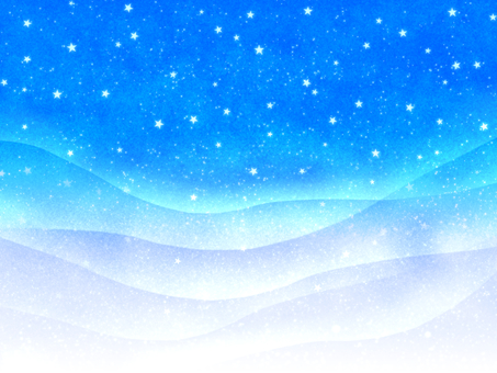 Blue Universe and Aurora Wallpaper