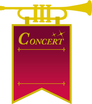 Flag of the concert