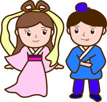 Weaving Princess and Hikoboshi