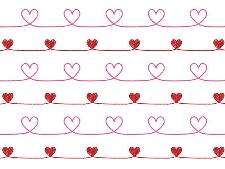 Heart pattern 11