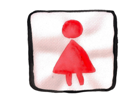 Mark: Women's toilet
