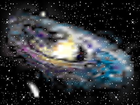 宇宙(2)仙女座星雲