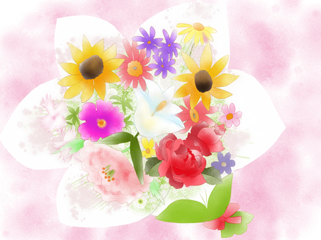 Bouquet blur