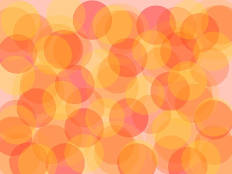 Warm color dot background