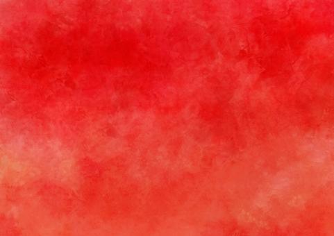 Red gradient watercolors wallpaper A4 nobi