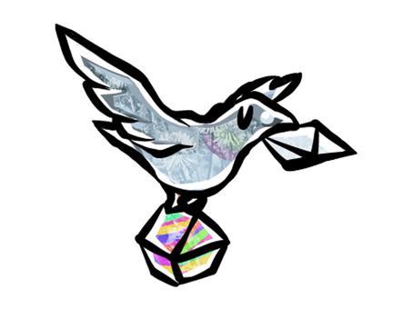 Pigeon who works hard